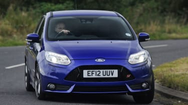 Ford Focus ST front cornering