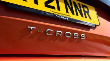 Volkswagen T-Cross Black Edition - T-Cross badge