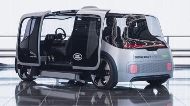 Jaguar Land Rover Project Vector - doors open