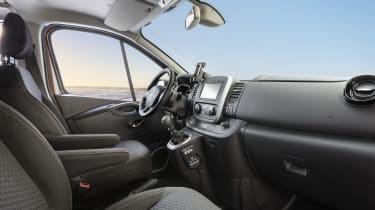 Vauxhall Vivaro Surf Concept - interior