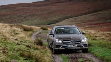 Mercedes E-Class All-Terrain - front off-road