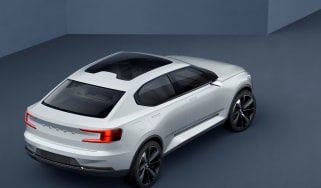 Volvo 40.2 Concept (Volvo V40 2018) rear high