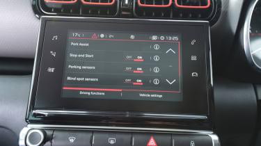 Citroen C3 Aircross - infotainment screen