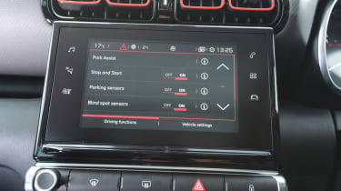 Citroen C3 Aircross - infotainment screen