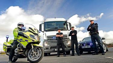 Police lorries - header