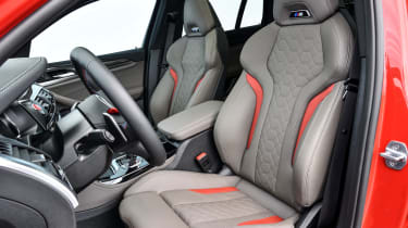 BMW X4 M Competition - front seats