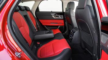 Jaguar XF Sportbrake 2.0 petrol R Sport rear seats