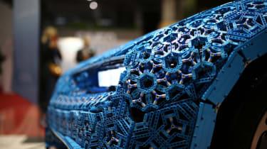 LEGO Bugatti Chiron - detail Paris