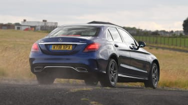 Mercedes C-Class - rear action