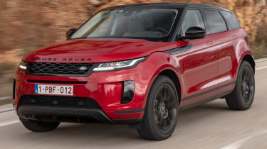 Range Rover Evoque - front tracking