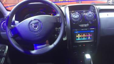 Dacia Duster DCT - Paris interior