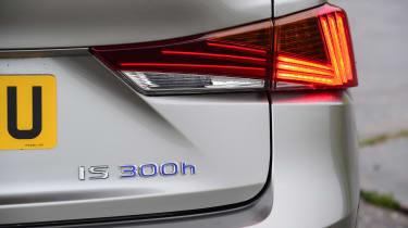 Lexus IS 300h - rear light detail