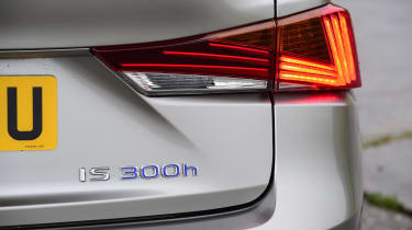Lexus IS 300h - rear light detail