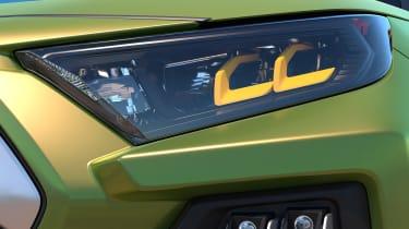 Toyota FT-AC Concept - headlight