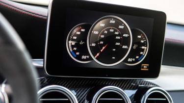 Mercedes-AMG GLC 43 Coupe  screen