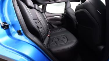 Used Nissan Qashqai Mk2 - rear seats