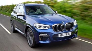 BMW X3 M40i - front
