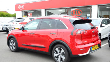 Kia Niro long-term - first report rear