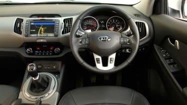 Kia Sportage 1.7 CRDi interior