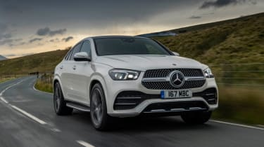 Mercedes GLC 400 d Coupe - front tracking