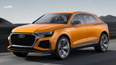 Audi Q8 Sport Concept - front tracking