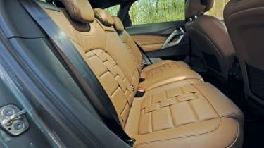 Citroen DS5 rear seats