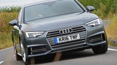 Audi A4 long-term test - front action