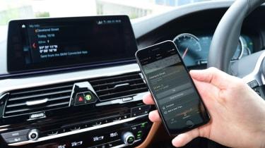 BMW 5 Series long termer - first report phone