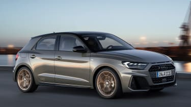 New Audi A1 - front