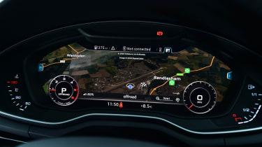 Audi A4 Allroad UK 2016 - virtual cockpit