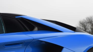 Lamborghini Aventador S Roadster - side profile