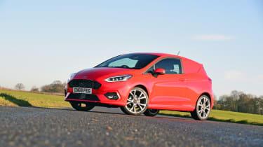 Ford Fiesta Sport Van front