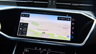 Audi S6 Avant - sat-nav