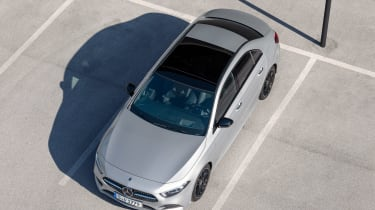 Mercedes A-Class Saloon - above