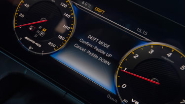 Mercedes-AMG E 63 S dials