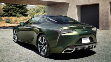 Lexus LC Coupe Limited Edition - rear static
