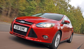 Ford Focus front tracking