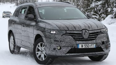 Renault koleos spies 1