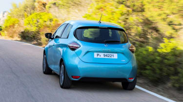 Renault ZOE - rear tracking