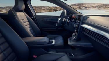 Renault Megane E-Tech Electric SUV - front seats