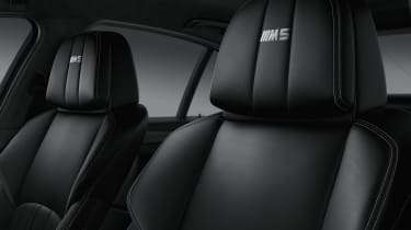 BMW M5 Competition Edition 2016 headrests