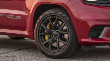 1012bhp Hennessey Jeep Trackhawk alloy wheel