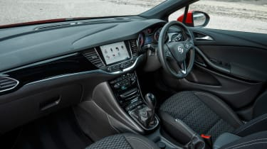 New Vauxhall Astra Sports Tourer - interior