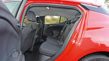 Vauxhall Astra - rear seats