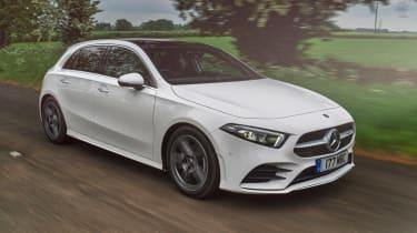 Mercedes A 180 d - front action