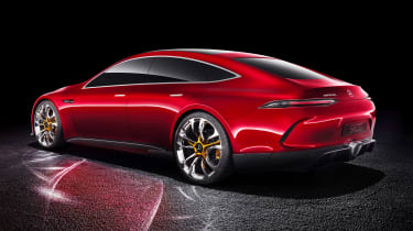 Mercedes-AMG GT Concept - side/rear static