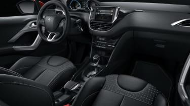 Peugeot 2008 2016 - interior