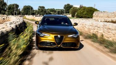 Alfa Romeo Giulia - front tracking