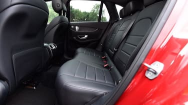 Used Mercedes GLC - rear seats