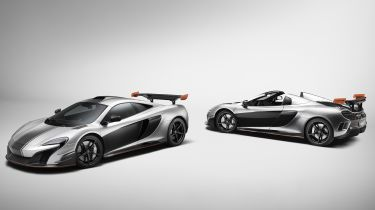 McLaren MSO R Coupe and Spider